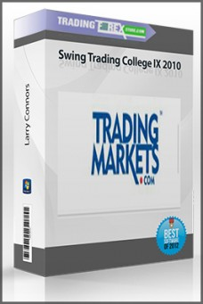 Larry Connors – Swing Trading College IX 2010