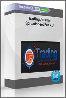 Trading Journal Spreadsheet Pro 7.3