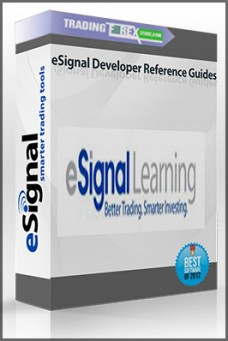 eSignal Developer Reference Guides