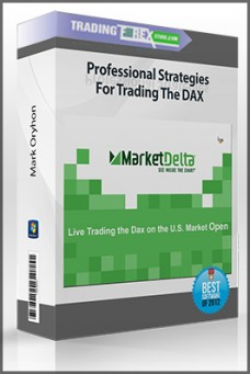 Mark Oryhon – Professional Strategies For Trading The DAX