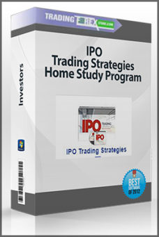 IPO Trading Strategies Home Study Program