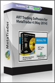 ART Trading Software for MetaTrader 4 (May 2014)