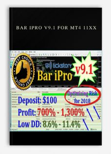 Bar Ipro v9.1 for MT4 11XX