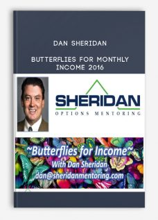 Butterflies for monthly Income 2016 by Dan Sheridan