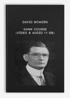 Gann Course (Video & Audio 1.1 GB) by David Bowden