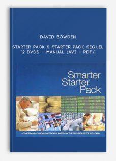 Starter Pack & Starter Pack Sequel [2 DVDs + MANUAL (AVI + PDF)] by David Bowden