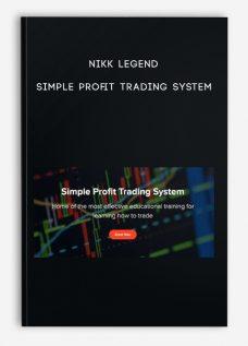 Simple Profit Trading System by NIKK LEGEND