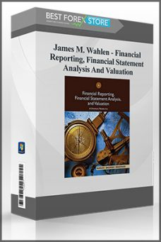 James M. Wahlen – Financial Reporting, Financial Statement Analysis And Valuation