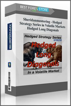 Sheridanmentoring – Hedged Strategy Series in Volatile Markets – Hedged Long Diagonals