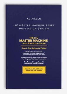 Al Aiello – LLC Master Machine Asset Protection System