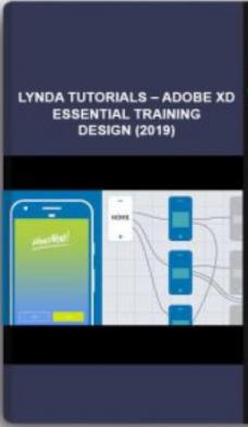 Lynda Tutorials – Adobe XD Essential Training Design (2019)