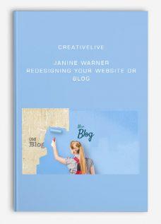 creativeLIVE – Janine Warner – Redesigning Your Website or Blog