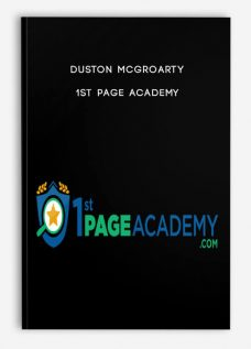 1st Page Academy by Duston McGroarty
