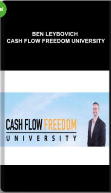 Ben Leybovich – Cash Flow Freedom University