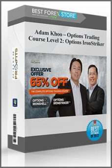 Adam Khoo – Options Trading Course Level 2: Options IronStriker
