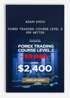 Adam Khoo – Forex Trading Course Level 2 – Pip Netter