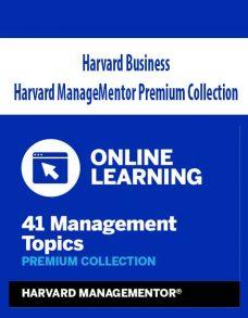 Harvard Business – Harvard ManageMentor Premium Collection