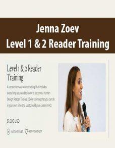 Jenna Zoev – Level 1 & 2 Reader Training