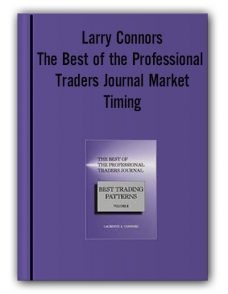 Larry Connors – The Best of the Professional Traders Journal Market Timing